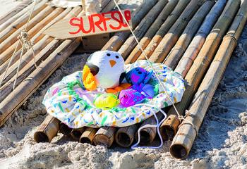 Пляжный коврик-трансформер своими руками