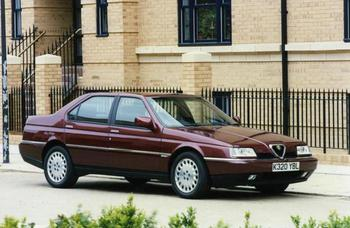 """Автомобиль """"Альфа Ромео 164"""" (Alfa Romeo): описание, характеристики, фото"""
