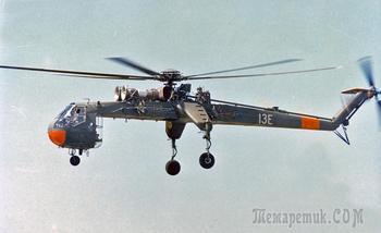 Что за странный вертолет на этом фото? Для чего он использовался?