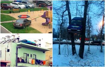 17 доказательств, что хорошие люди так не припаркуются