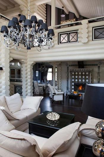 «Вилла Роза» удивительный бревенчатый Дом, автор Юлиан Чаплинский