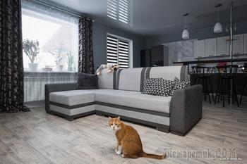 Устали снимать квартиру в Минске и построили дом с бюджетным ремонтом