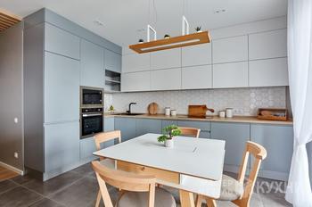 Как выглядят дизайнерские кухни в квартирах минчан. Посмотрите на эту красоту