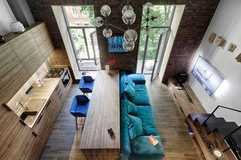 Небольшая квартира-студия в историческом центре Киева