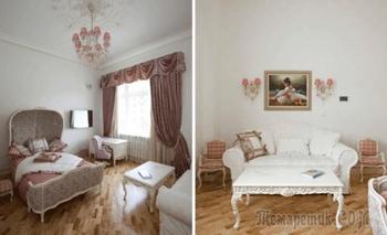 Квартира в дворцовом стиле на Тверской