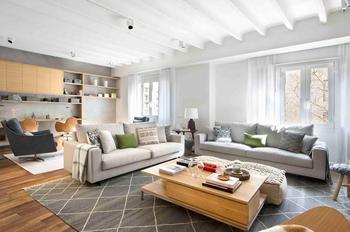 Апартаменты для большой семьи в Испании