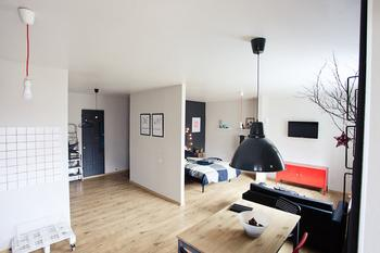 Стильная квартира-студия для сдачи в аренду