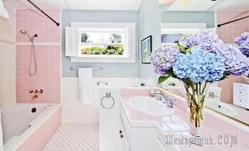 20 пастельных ванных комнат
