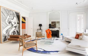 Экзотика модерна в парижском интерьере