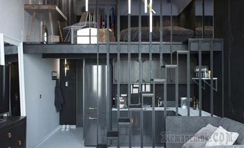 Студия в сталинке площадью всего 24 м²