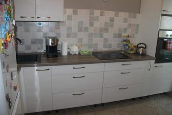 Моя кухня: в серо-бежево-голубых тонах
