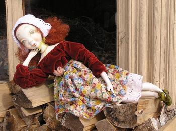 Куклы из папье маше...