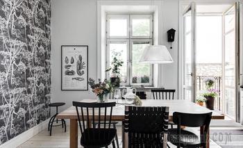 Угловая двушка в Швеции, 76 м²