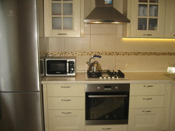 Моя кухня: светлая, деревянная, классическая