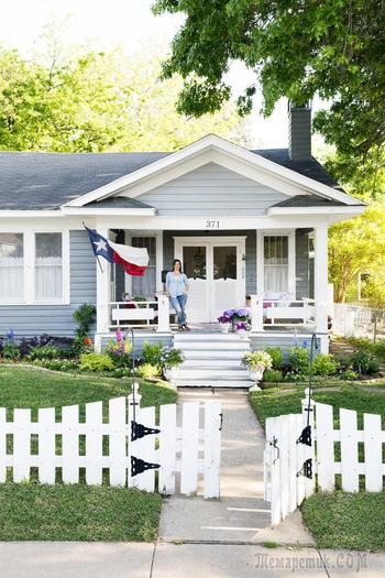 Очаровательный дизайн дома в стиле кантри (Техас, США)