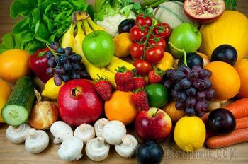 О чем может рассказать цвет овощей и фруктов