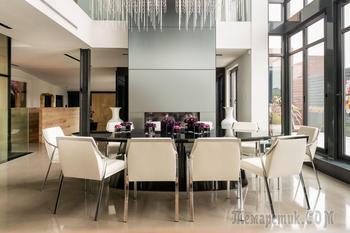 Уникальный дизайн частной резиденции в Монреале
