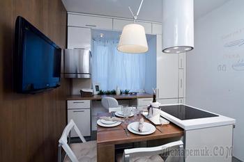 Дизайн-проект кухни 9 кв. м.