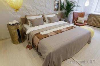 Как архитектор из Минска переделала просторную спальню для «Квартирного вопроса»