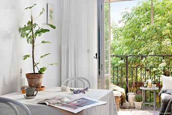 Уютная маленькая квартира на 34 кв. м.