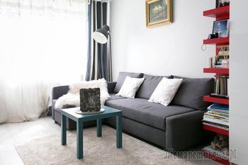 Оформление 2-комнатной «хрущёвки» площадью 45 кв. м