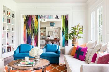 Жизнерадостный интерьер дома от дизайнера Emily Lister