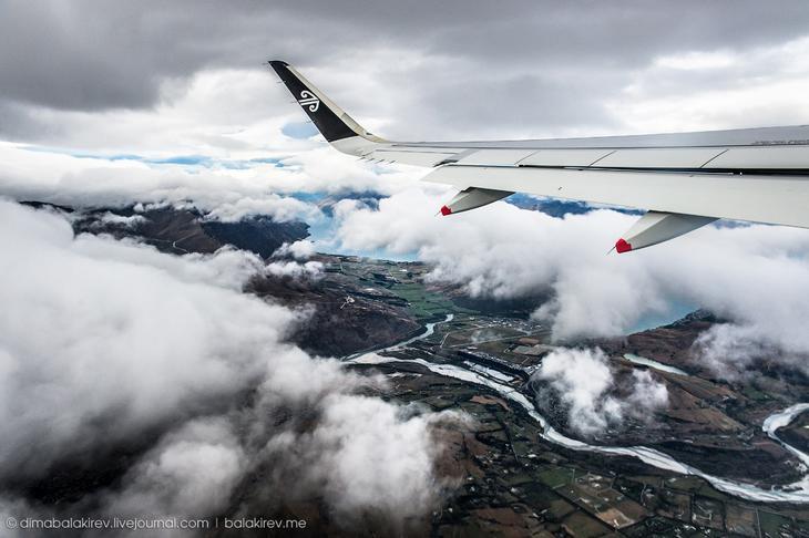 Красивые виды из самолета