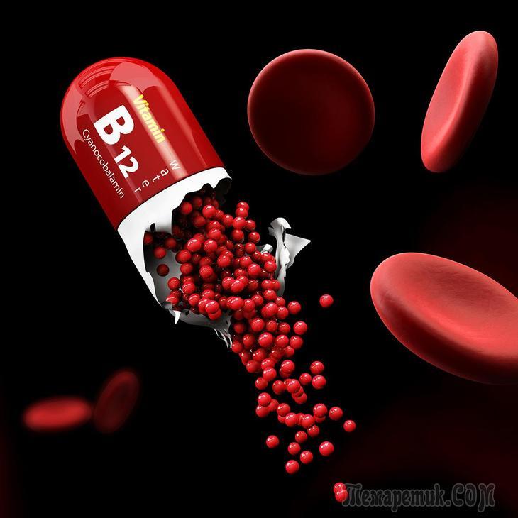 Витамин В12: роль в организме, признаки дефицита, как пополнить запасы