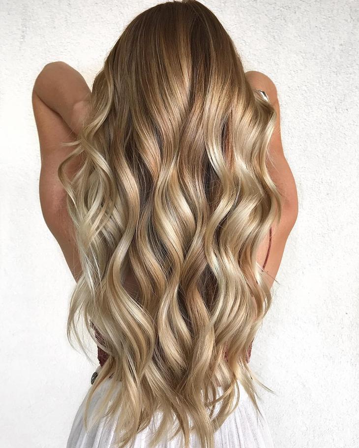 оттенки волос, популярные в 2019 фото 18
