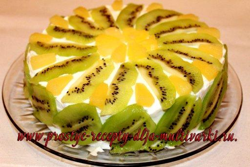 ананас и банан торт фото