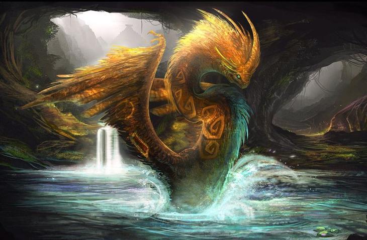 Кукулькан (Майя). драконы, история, культура, мифология