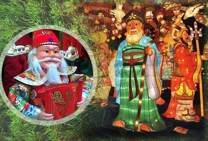 Одзи-сан (Япония) дед мороз, новый год.рождество, санта клаус