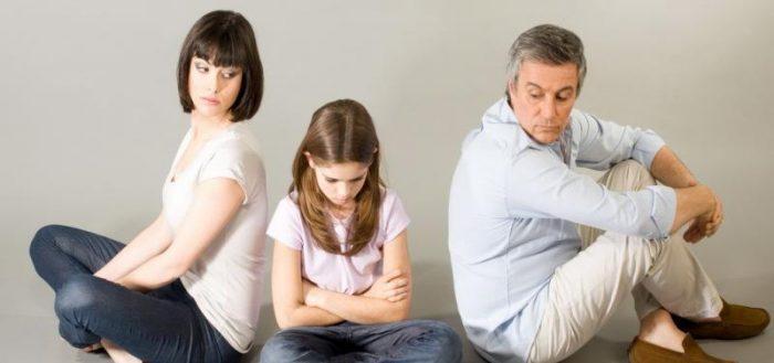 Бракоразводный процесс с детьми