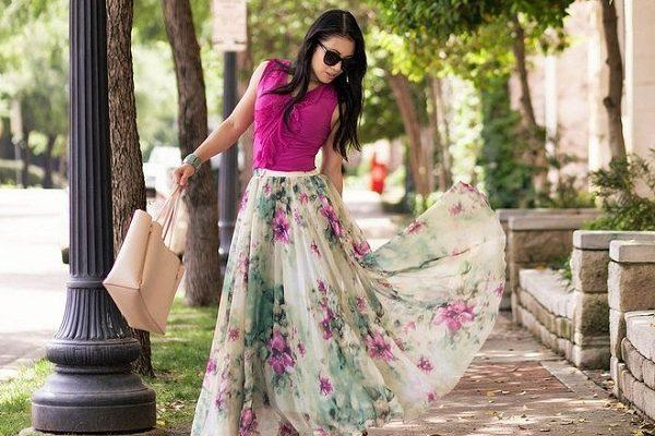 Модные длинные юбки – лето 2020