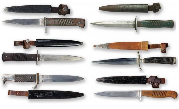 Траншейный нож, особое оружие Первой мировой