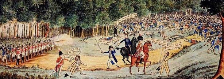 5. Восстание в Касл Хилл австралия, история, колонизация, факт