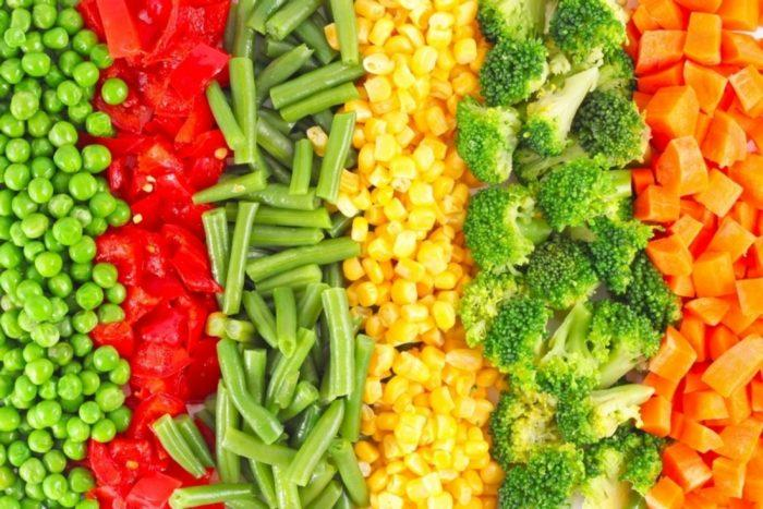 Заморозка овощной смеси на зиму в пакетах
