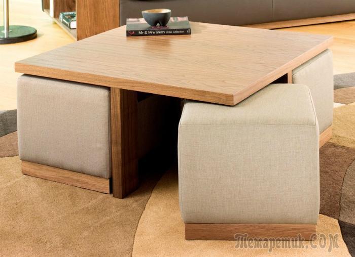 Практичные предметы мебели, которые тут же захочется приобрести и себе