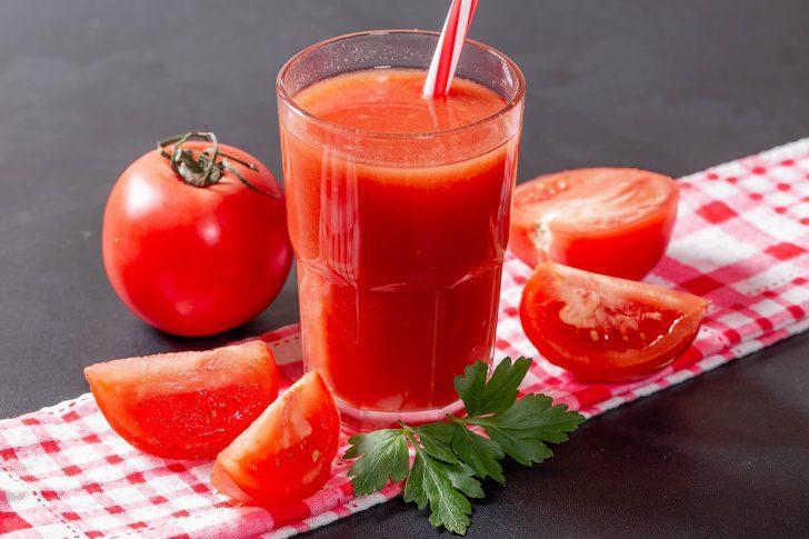 Что произойдёт с вашим телом, если начать пить каждый день томатный сок