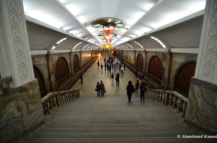Пхеньянский метрополитен / ©wikipedia