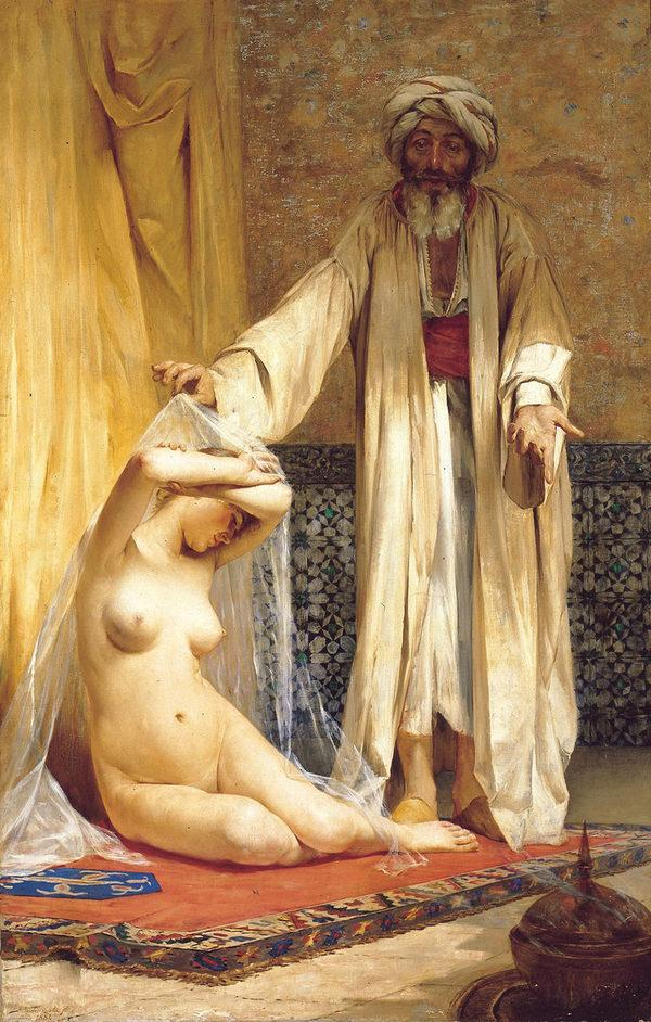 Рабыни в живописи