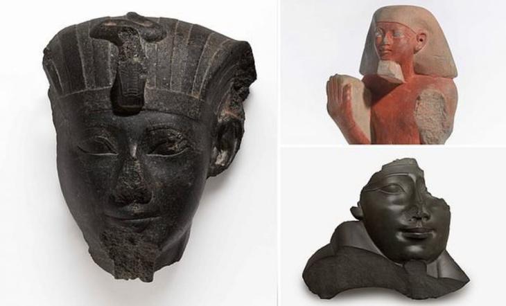 Почему египетским статуям перекрывали дыхание?