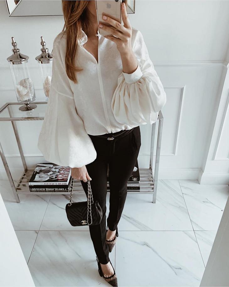 Модные блузки 2019 фото 16