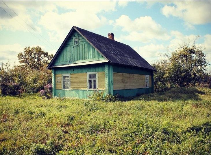 До и после. Семья купила старый деревенский дом и превратила его в уютную дачу