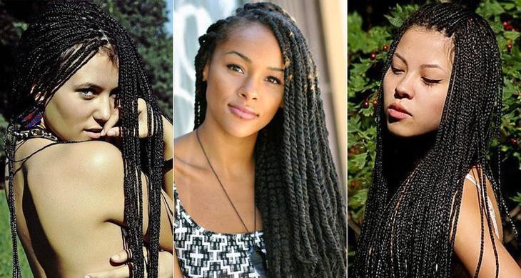 Как плетут африканские косички