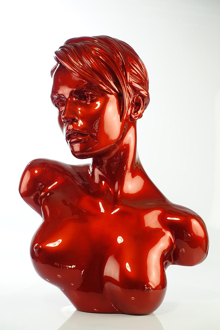 Yves Pires - Sculptures : Yulia Red Star