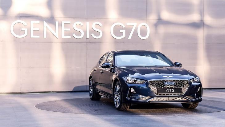 фото Genesis G70 2017-2018