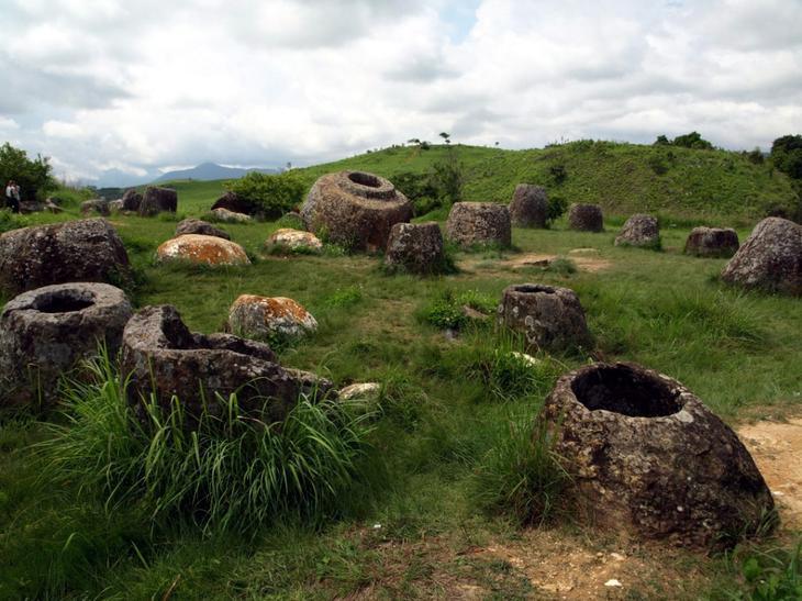 Долина кувшинов Лаос. Уцелевшие останки цивилизаций. Самые загадочные сооружения планеты, сохранившиеся до наших дней. Фото с сайта NewPix.ru
