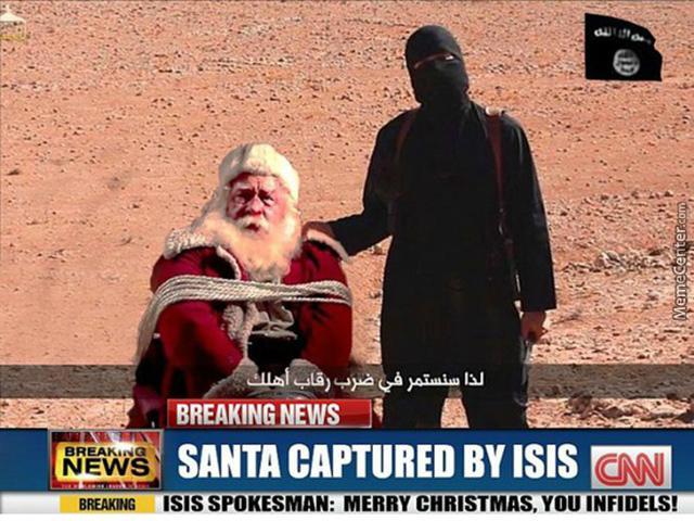 "В Европе жгут рождественские елки с криками ""аллах акбар"""