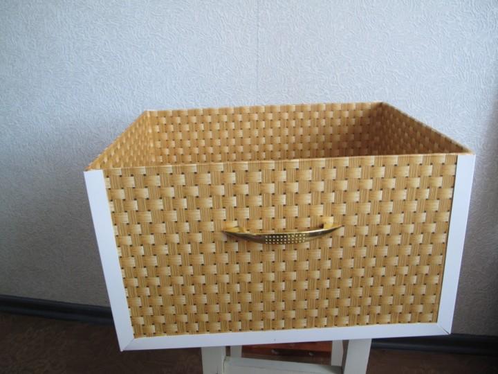 Короб для хранения дамских мелочей. МК